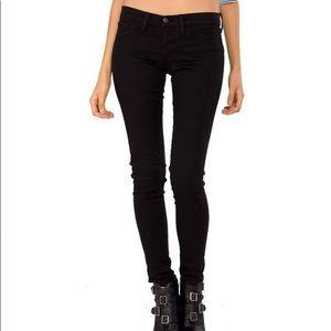 Flying Monkey Skinny Jeans in Black